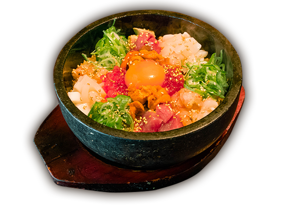 石焼海鮮丼 忍寿司