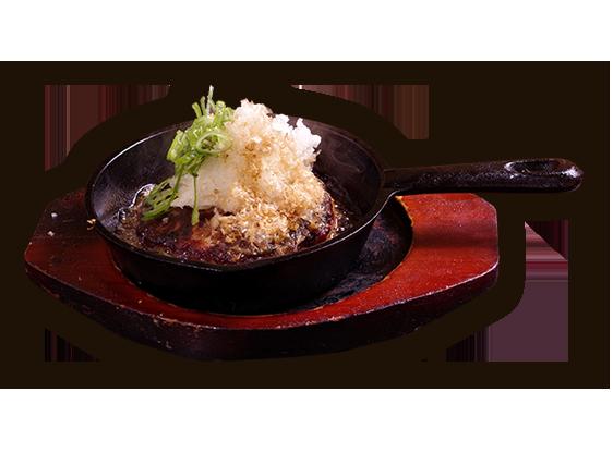 ハンバーグ 忍寿司